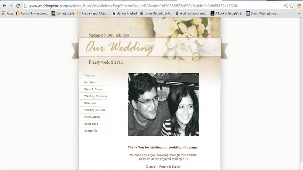WeddingWebiste