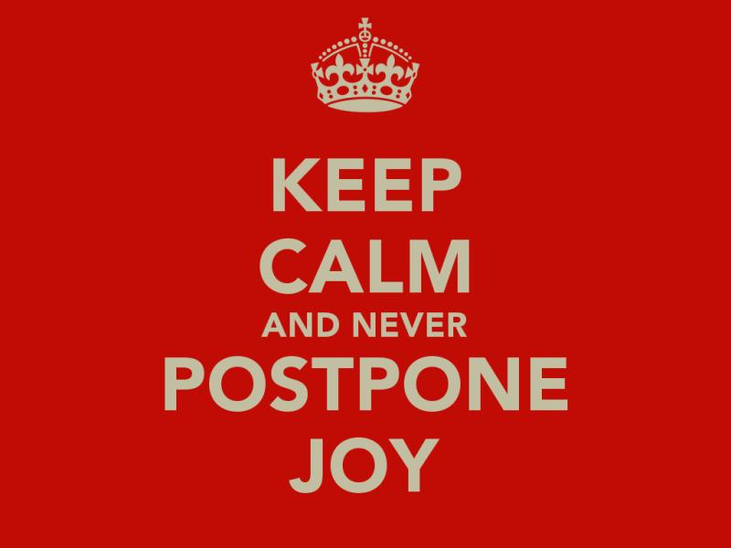 Postponing decsion Making