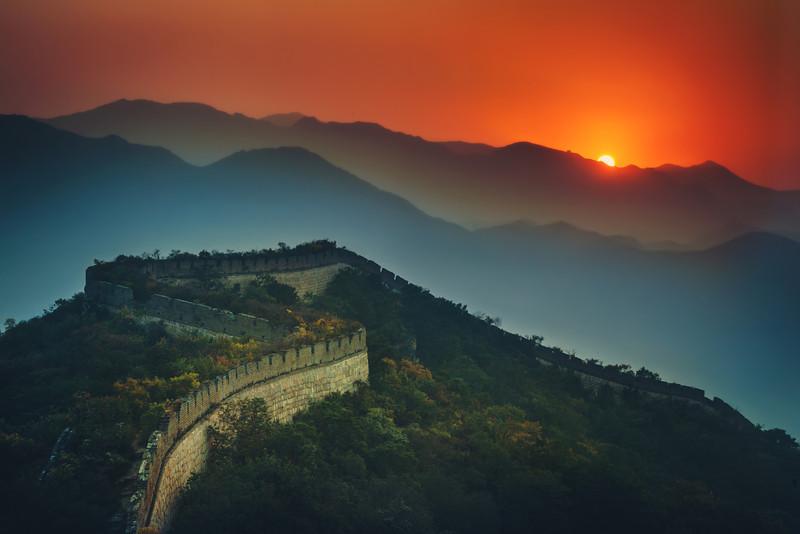 Great Wall of China Stevan Noronha Blog